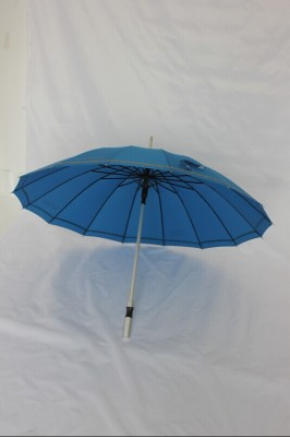 Groove bone paint PG cloth straight umbrella automatic advertising umbrella