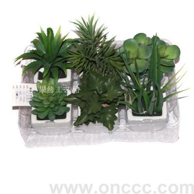 Simulation of bonsai, simulation of succulent plants, home decor, gifts potted plants