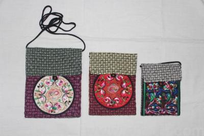 Ethnic embroidered linen bag crafts tourism craft souvenirs