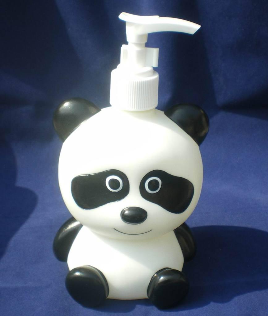 卡通沐浴瓶子,洗手液瓶子,动物样子瓶子,小熊沐浴瓶