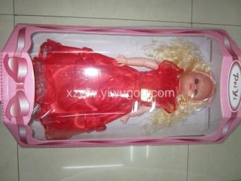 红色芭比娃娃