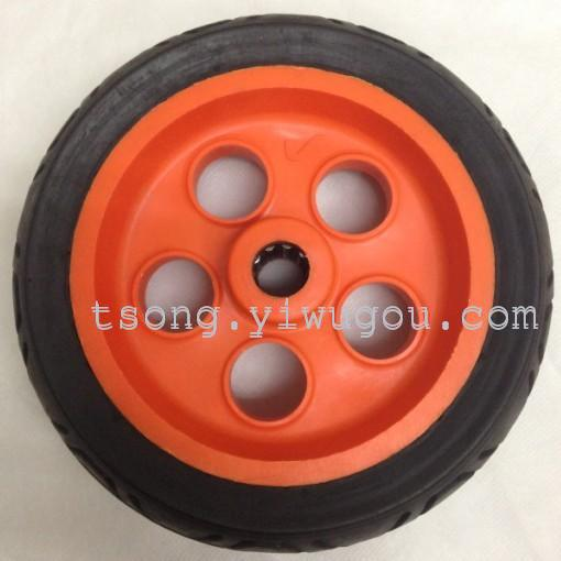 Supply 8 Inch Polyurethane Foam Pu Wheel Cart Wheels Cart Wheels