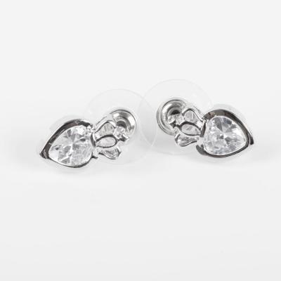 Popular earrings Princess Korean heart Stud fashion earrings ear studs 70106