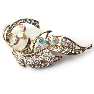 December new garment decoration gilt-encrusted brooch corsage   Shell fashion jewelry accessory