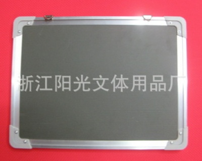 Plastic magnetic Whiteboard green Blackboard aluminum bezel