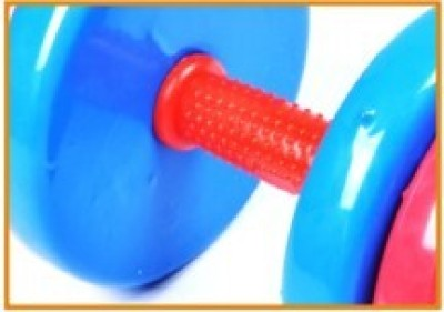 Shuangpai Muti-color plastic dipping dumbbell/40KG dumbbell/adjustable dumbbell