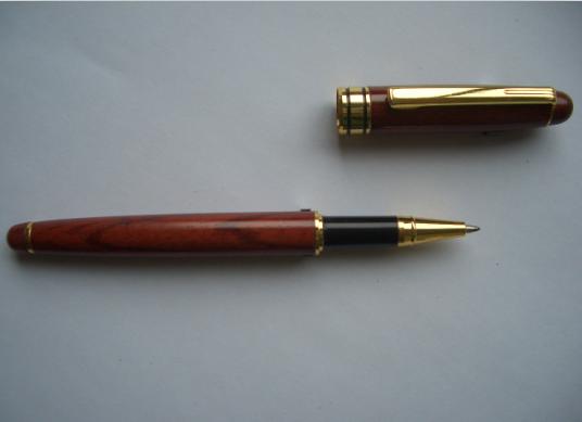 木制圆珠笔 木头金属笔 广告礼品笔