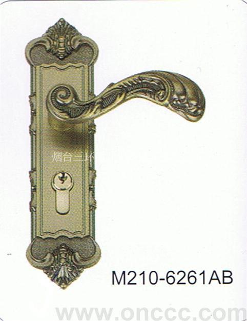 锌合金执手锁m210-6161ab是采用轴承结构