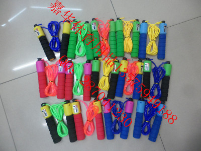 Blister card sponge handle counting skipping rope, digital skipping rope, skipping rope for weight loss