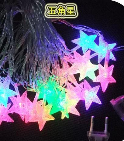 节日彩灯led彩灯5角星型_骁宇灯饰_义乌国际商贸城一