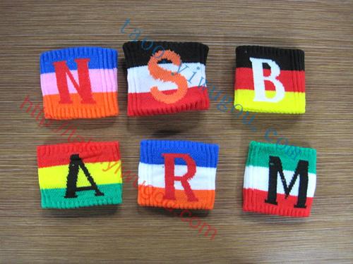 S,A,N,M,R,B时尚英文图纸提花三色大写字母个护腕泌阳县东尚29图片