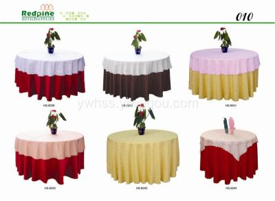 REDPINE  hotel supplies Table Linen Tablecloth
