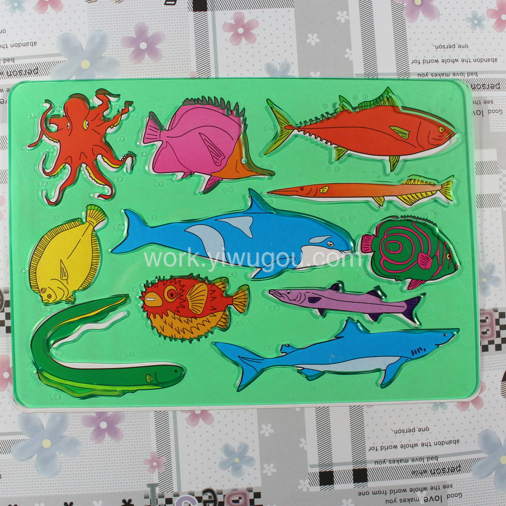 动物模板 绘图模版 画图工具 卡通造型尺 模板尺 塑料