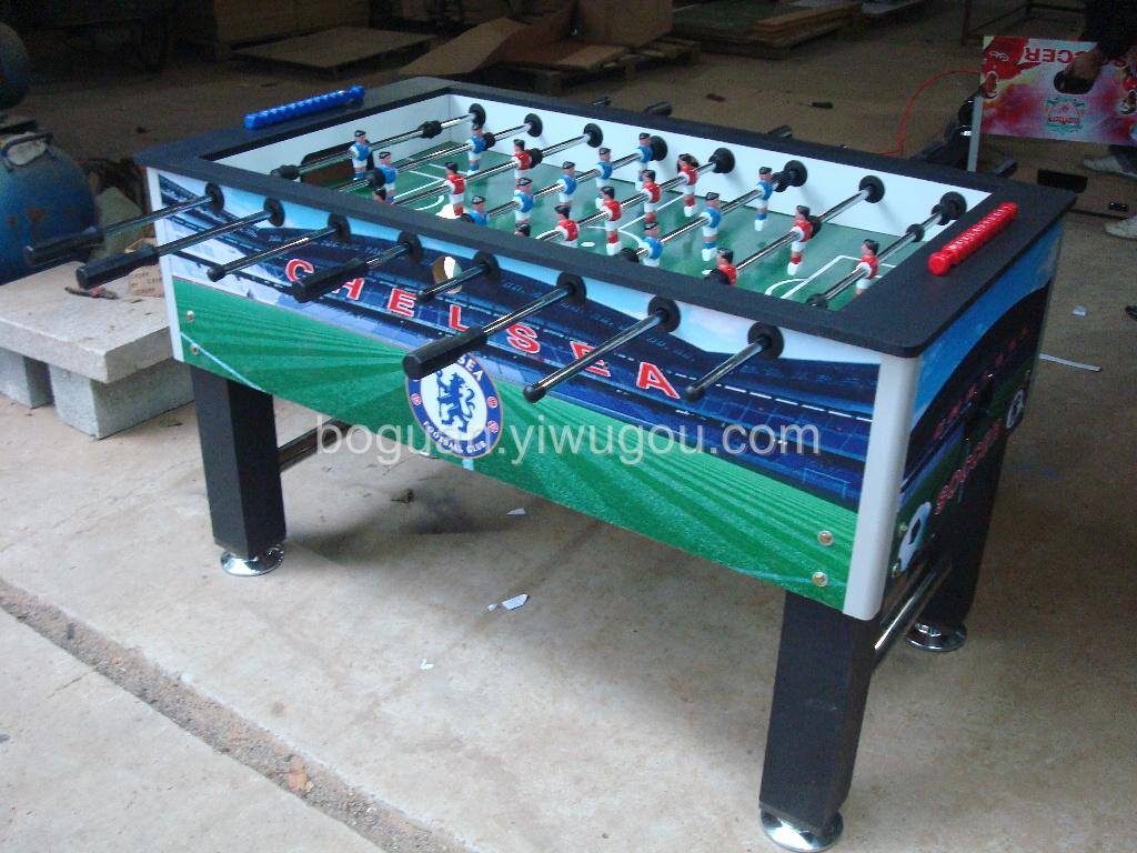 国际标准足球桌 桌上足球 台式足球图片