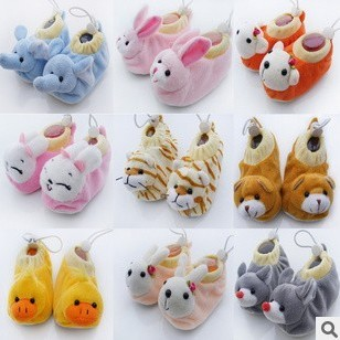 宝宝婴儿珊瑚绒棉鞋 可爱卡通动物全集