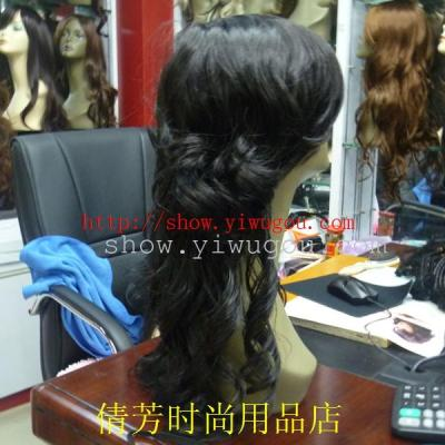 Domestic sale wigs,Premium wigs,Simulation of  wig,Long curly hair