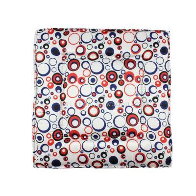 Circle silk cloth back cushion factory wholesale seat cushion summer taobao hot sale.