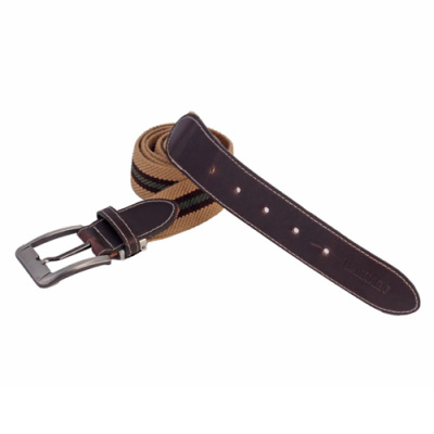 Comfortable elastic waistband, elastic belt metal buckle SJ080064