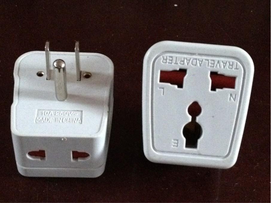 德标欧标转换插头 德国 西班牙巴厘岛美国等用转换插座