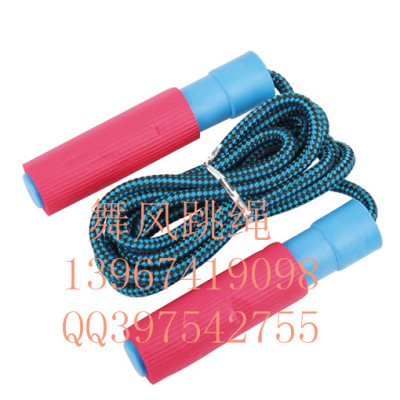 Dancing wind bearing jump rope examination standard plastic handle jump rope