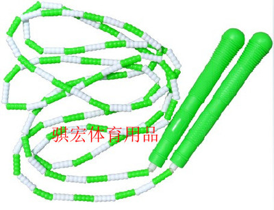 Bai Jie Qi macro rope skipping acrobatic rope skipping children jump rope PVC plastic counting jump rope