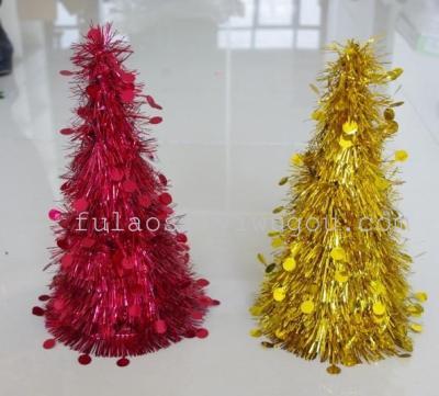 Christmas decorations, tops, flower pendant