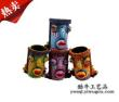 Swallowing mouth painting pen pencil vase Dongba pen holder