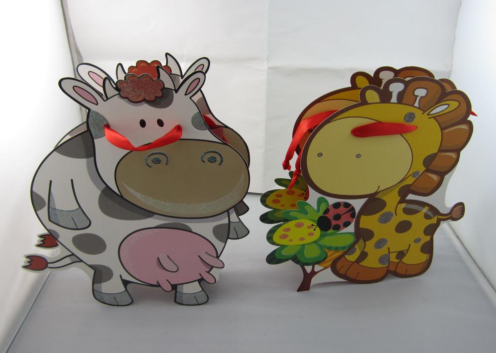 动物造型礼品袋 手提袋