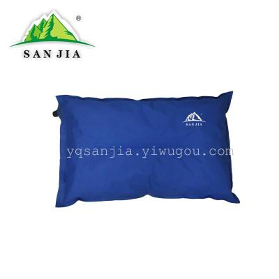 Certified SANJIA outdoor camping products self-inflating pillow