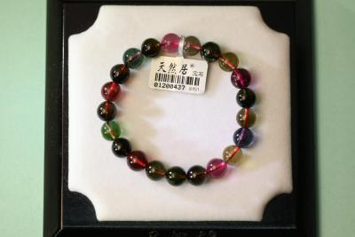 """Natural habitat"" natural Crystal jewelry gift tourmaline Bracelet (selection)"