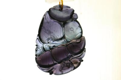 """""""Natural habitat"""" natural Indicolite Crystal jewelry beautifully carved all the pendants (selection)"""