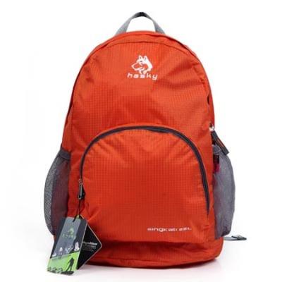 Climbing bag duffel bag folding waterproof backpack ripstop nylon fabric