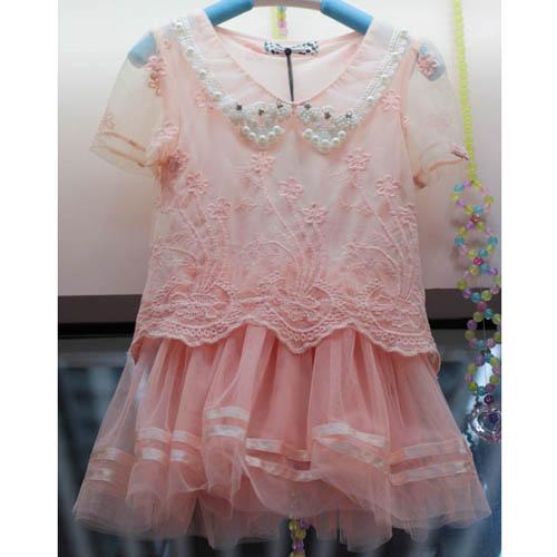 2013新款韩版时尚女童装裙子14图片