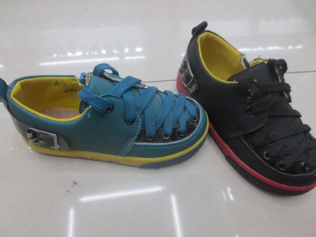 2014新款 黑蓝多色系鞋带时尚儿童休闲鞋 运动鞋