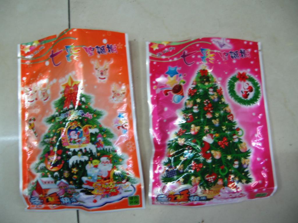 纸树开花 圣诞树 玩具
