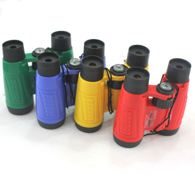 6X30 children toy telescope a telescope can process 4-color sticker LOGO promotional items