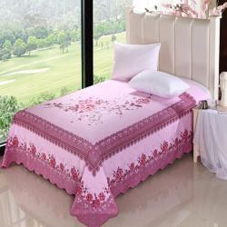 幸美*传统国民全棉床单加厚磨毛床单冬季保暖经久耐用床单褥单
