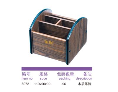 8072 wooden pen holder.
