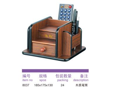 8037 wooden pen holder.