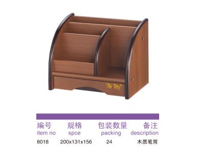 8018 wooden pen holder.