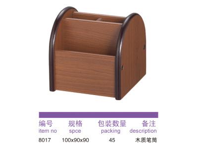 8017 wooden pen holder.