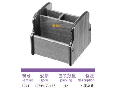 8071 wooden pen holder.