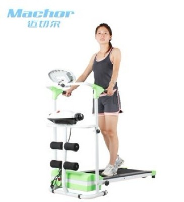 Mecher fitness equipment home authentic muted specials mini electric multi-function treadmill