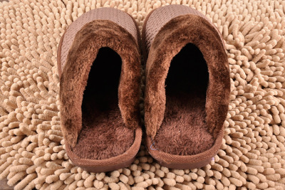 2013 new style cotton slippers lattice grain wholesale cheap cotton thick-soled House slipper sole 08-36B