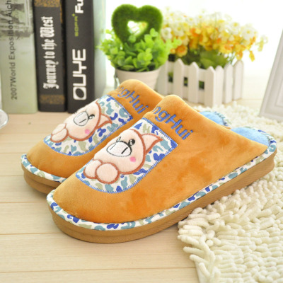 Piggy Lele 2022 cartoon couple cotton slippers wholesale cotton slippers home slippers, cotton manufacturer