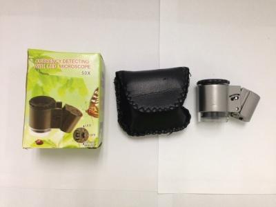 Mini LED counterfeit jewelry appraisal microscopes microscope NO.9882A