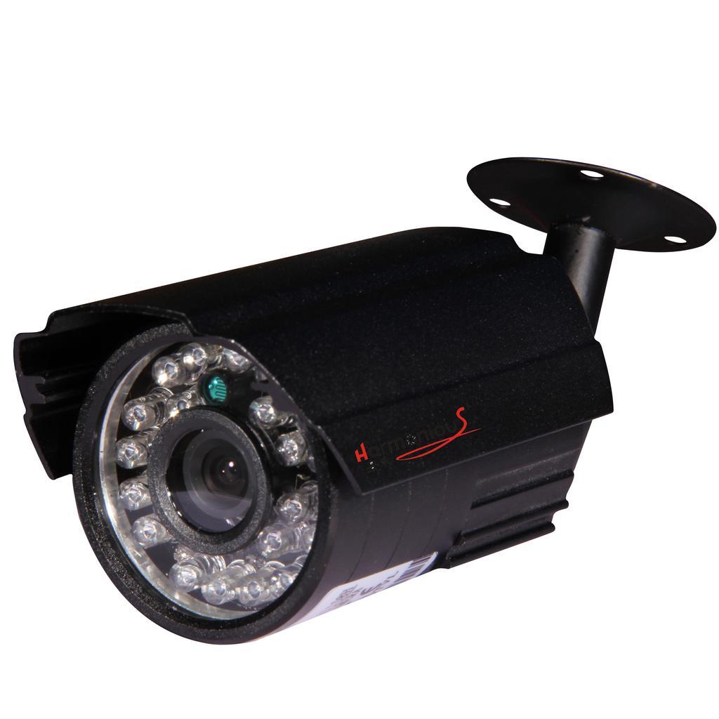 黑色小枪式 700线监控摄像头 监控摄像机_ 深圳市景禾