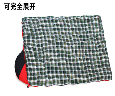 Sleeping bag cotton sleeping bag envelope style windproof warm sleeping bag