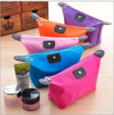 Manufacturers selling dumplings stuffed with Candy-colored makeup bag cosmetic bag cosmetic bag a gift Gift Pack