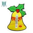 """Dragon craft"" Cartoon Christmas Eva fashion thermometer"